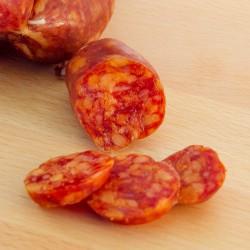 Spicy bit-size salami